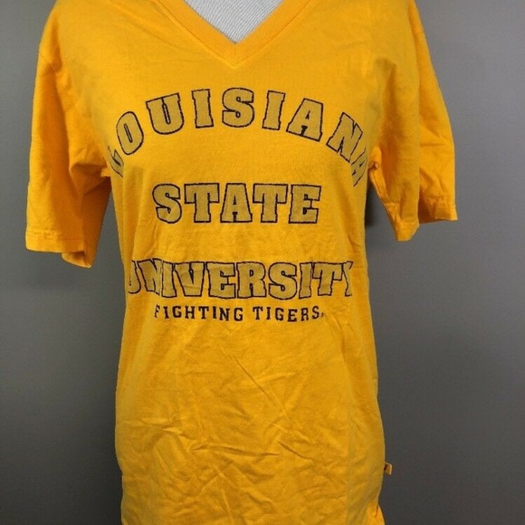 Louisiana text V-Neck T-Shirt